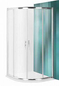 Радиусный стеклянный душевой угол. Roltechnik PXR2N 900 с 2 раздвижными дверями стекло chinchilla (PXR2N 900)