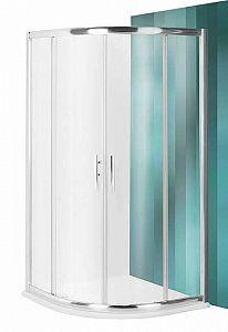 Радиусный стеклянный Roltechnik PXR2N 1000 душевой уголок с 2 раздвижными дверями ( PXR2N 1000 )