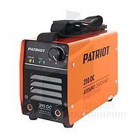 Сварочный аппарат PATRIOT 210DC MMA, фото 1