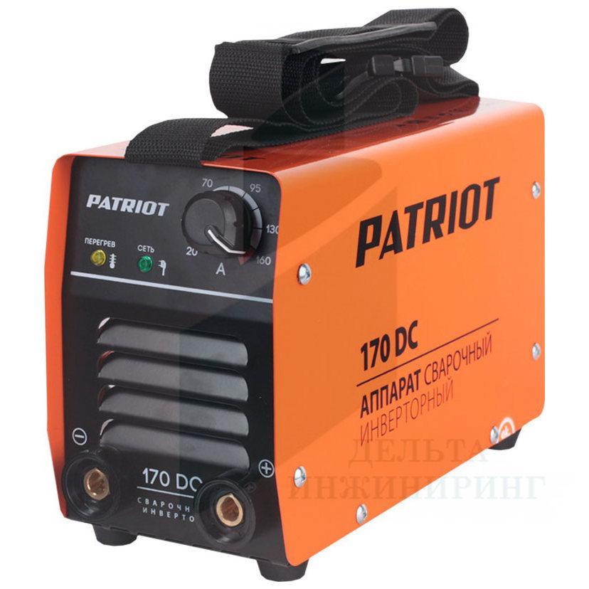 Сварочный аппарат PATRIOT 170DC MMA