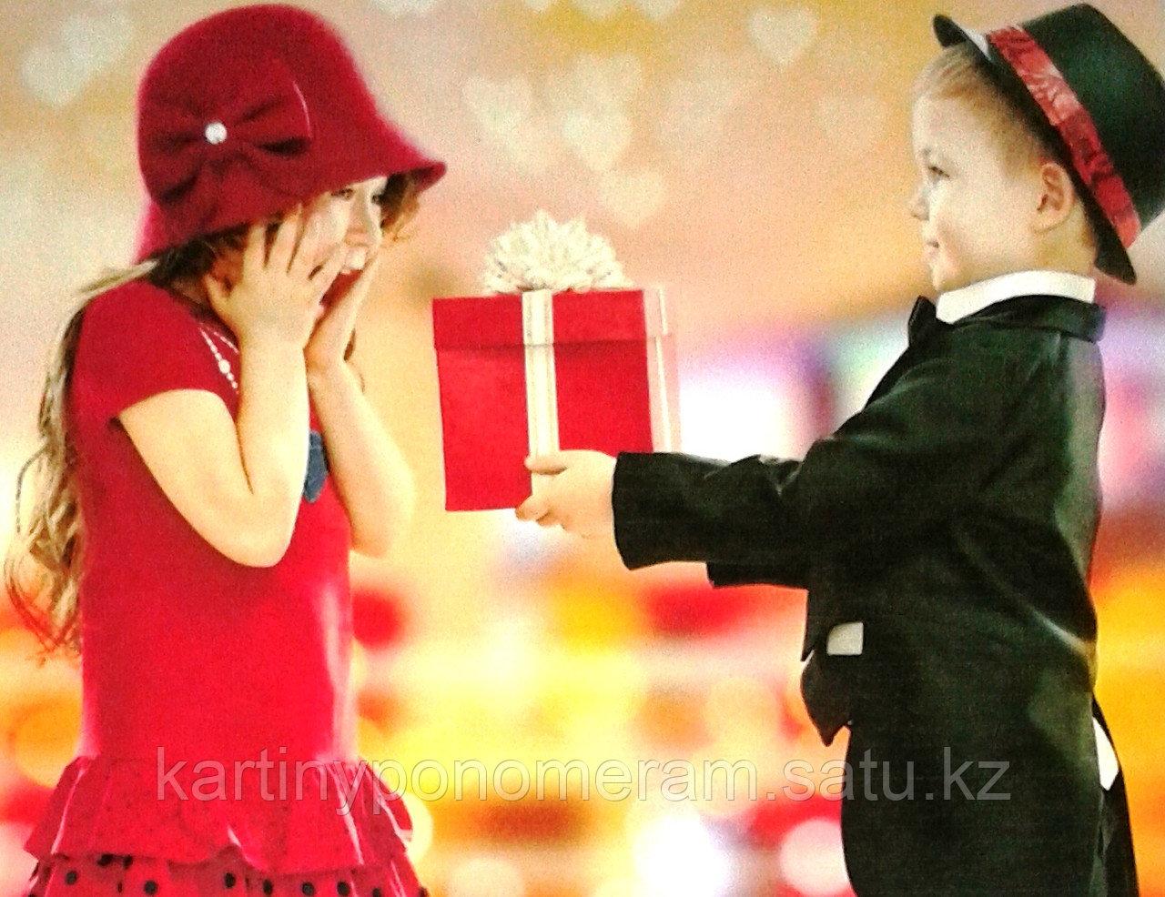 """Картина по номерам """"Подарок для любимой"""""""