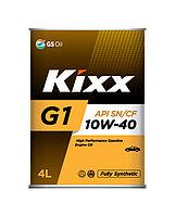 Моторное масло KIXX G1 SN 10w40 4 литра