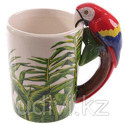 Кружка Jungle Explorer Попугай 3D