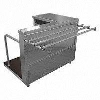 Стол кассовый Лира-Профи СК/ЛП (1120x705(1030)x850(870) мм)