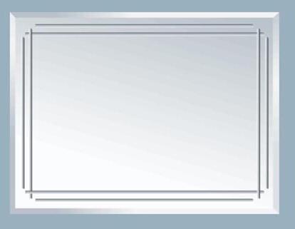 Зеркало Аквалиния HS-Т009, 80*60