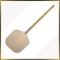 Цельная лопата для пиццы с деревянной ручкой, 35*100 см
