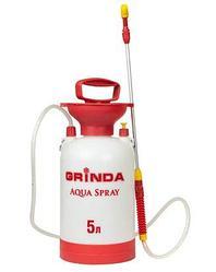 Опрыскиватель садовый GRINDA 8-425115_z01, Aqua Spray, широкая горловина, устойчивое дно, алюм. удлинитель