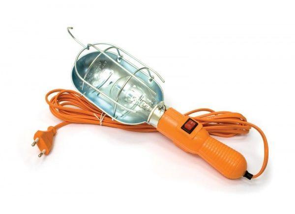 Светильник ручной 10 м. (лампа переноска)