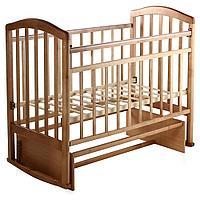 Детская кроватка Антел Алита-3 (бук), фото 1
