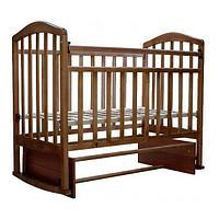 Детская кроватка Антел Алита-3 (орех), фото 1