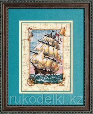 """Набор для вышивания крестом """"Морской вояж"""""""