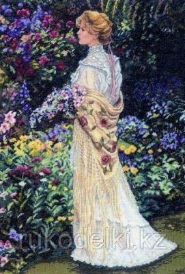 """Набор для вышивания крестом """"В ее саду"""""""