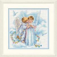 """Набор для вышивания крестом """"Ангельские поцелуи"""""""