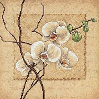 """Набор для вышивания крестом """"Восточные орхидеи"""""""