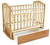 Детская кроватка Антел Алита-4 (бук)