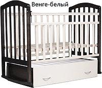 Детская кроватка Антел Алита-4 (венге-слоновая кость), фото 1