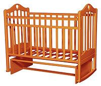Детская кроватка Антел Каролина-3 (орех), фото 1