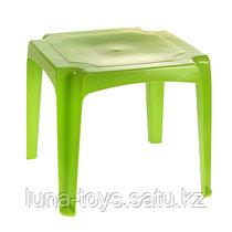 Стол детский, цвет: зеленый