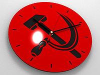 Настенные часы с фото или лого, фото 1