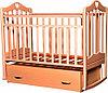 Детская кроватка Антел Каролина-4 (бук)
