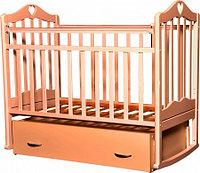 Детская кроватка Антел Каролина-4 (бук), фото 1