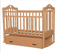 Детская кроватка Антел Каролина-4 (орех), фото 1