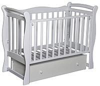 Детская кроватка Антел Северянка 1 (слоновая кость)