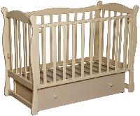 Детская кроватка Антел Северянка 2 (слоновая кость), фото 1