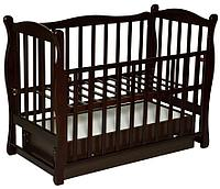 Детская кроватка Антел Северянка 2 (шоколад)