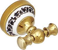 Крючок Fixsen Bogema Gold FX-78505AG белый-золотистый