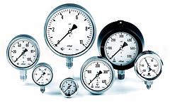 Измерительные приборы: манометры, термометры, счетчики