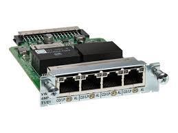 Модуль Cisco VWIC3-4MFT-T1/E1=