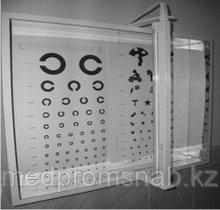 Осветитель таблиц, в комплекте с таблицами бытовой