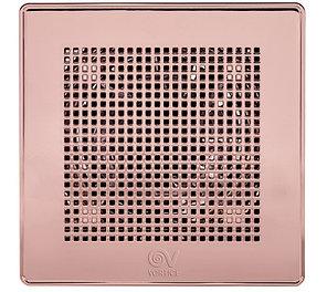 """Вытяжной вентилятор PUNTO EVO GOLD ME100/4""""LL ORO ROSA-PINK( РОЗОВОЕ ЗОЛОТО), фото 2"""