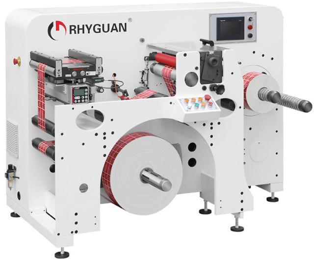 Бобинорезальное оборудование Rhyguan WON-420 - высокоскоростной сервоприводный аппарат
