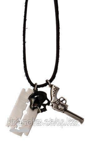 Подарок для мужчин Кулон OFFICER CUT SKUL