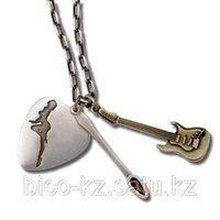 Серебряные цепи и кулоны Подарочный набор SEXDRUGSROCKNROLL