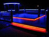 Ленты светодиодные 220 в. В ПВХ оболочке  LED лента SMD 5050, RGB, фото 4