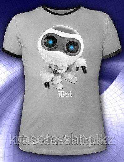 Футболка iBot (Светится в темноте и ультрафиолете)