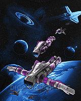Футболка SPACE DIVE (Светится в ультрафиолете), фото 1