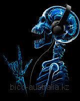 Футболка X-Skeleton (Светится в темноте и ультрафиолете)