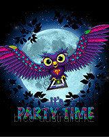 Футболка   IT`S PARTY TIME (Светится в ультрафиолете), фото 1