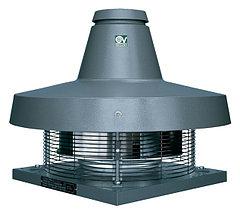 Крышные центробежные вентиляторы серии TR -E, с горизонтальным выбросом воздуха.