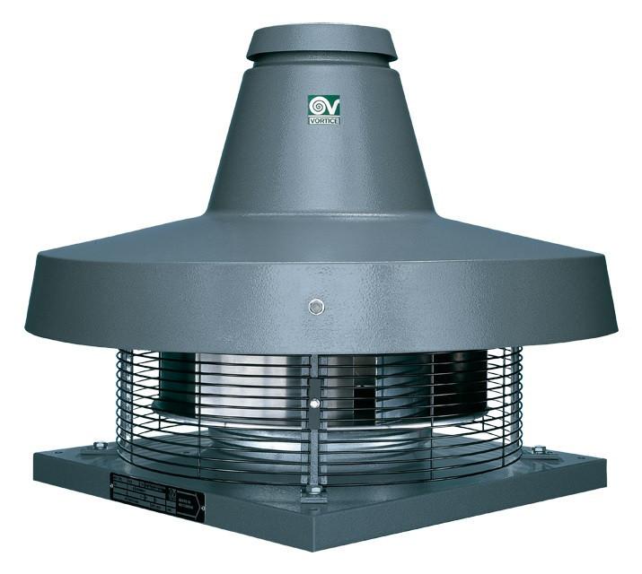Крышные вентиляторы с вертикальным выбросом TRM 20 E 4P
