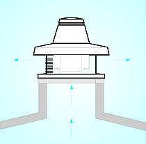 Крышные вентиляторы с вертикальным выбросом TRM 20 E 4P , фото 3