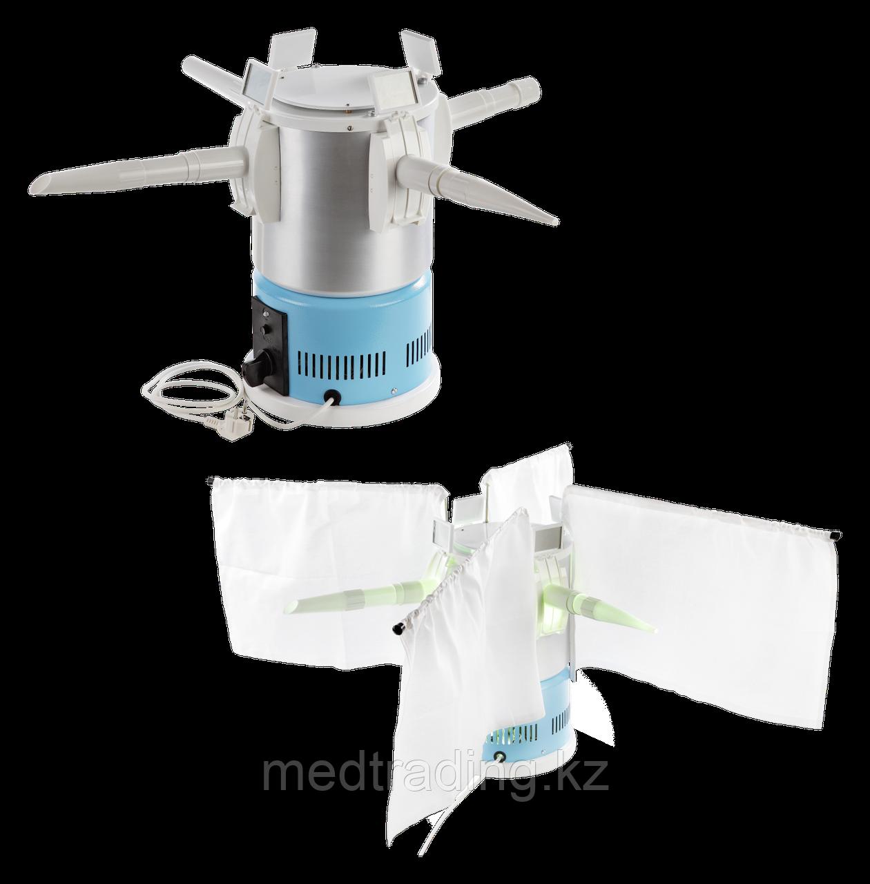 """Облучатель ультрафиолетовый стационарный для облучения верхних дыхательных путей и полости уха ОУФну-""""ЭМА-Е"""""""