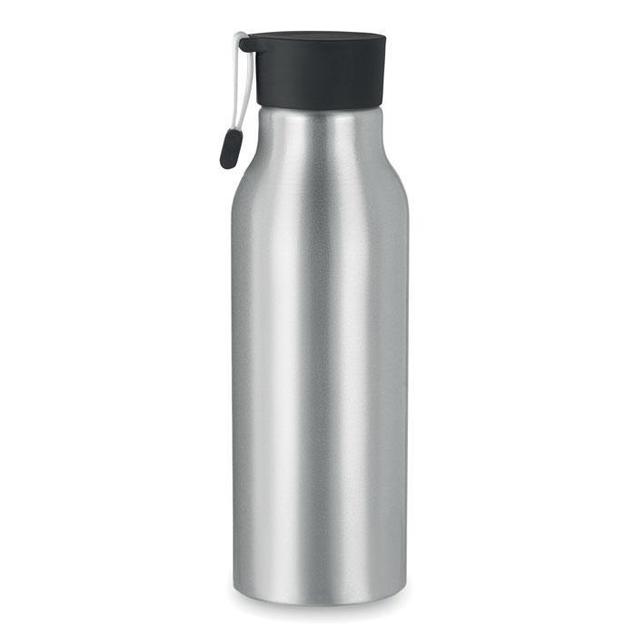 Бутылка для питья с силиконовым ремешком
