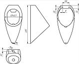 Антивандальный писсуар 4НСт-1, фото 2