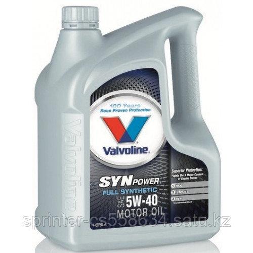 Моторное масло Valvoline SynPower 5W40 5 литров