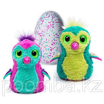 Интерактивная игрушка Hatchimals - Пингвинчик,пурпурный / зеленый
